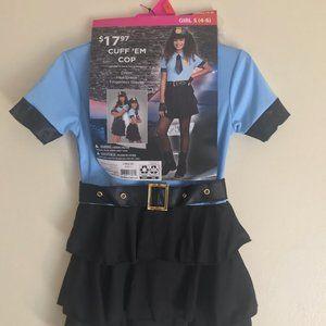 Girls Police Costume